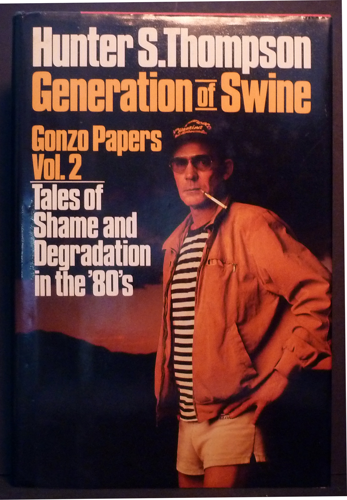 Image for Generation of Swine - Gonzo Papers Vol. 2 Tales of Shame and Degradation in the '80's