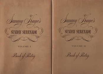 Image for Sammy Kaye's Sunday Serenade Book of Poetry Volume 1 & 2 - Inscribed