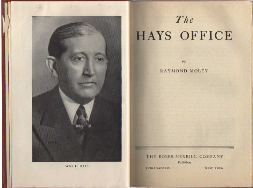 Image for The Hays Office