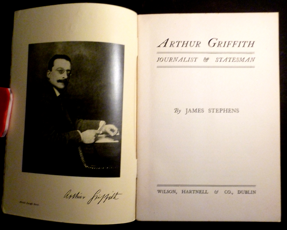 Image for Arthur Griffith Journalist and Statesman