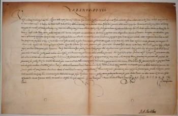 Image for Pope Urban VIII Papal Bull 1637