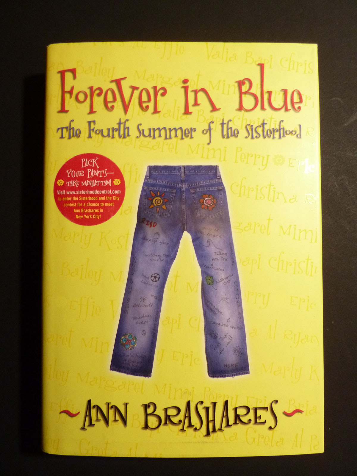 Image for Forever in Blue: The Fourth Summer of the Sisterhood (Sisterhood of Traveling Pants, Book 4)