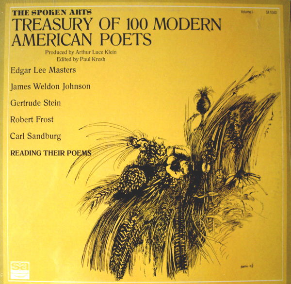 Image for TREASURY OF 100 MOD. AM. POETS. VOL 1FROST, STEIN etal