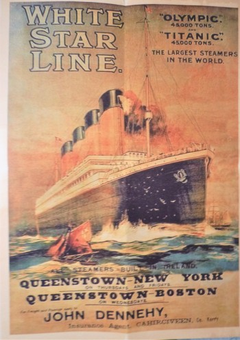 Image for White Star Line Steamship Poster