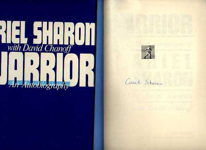 Image for Warrior: The Autobiography of Ariel Sharon