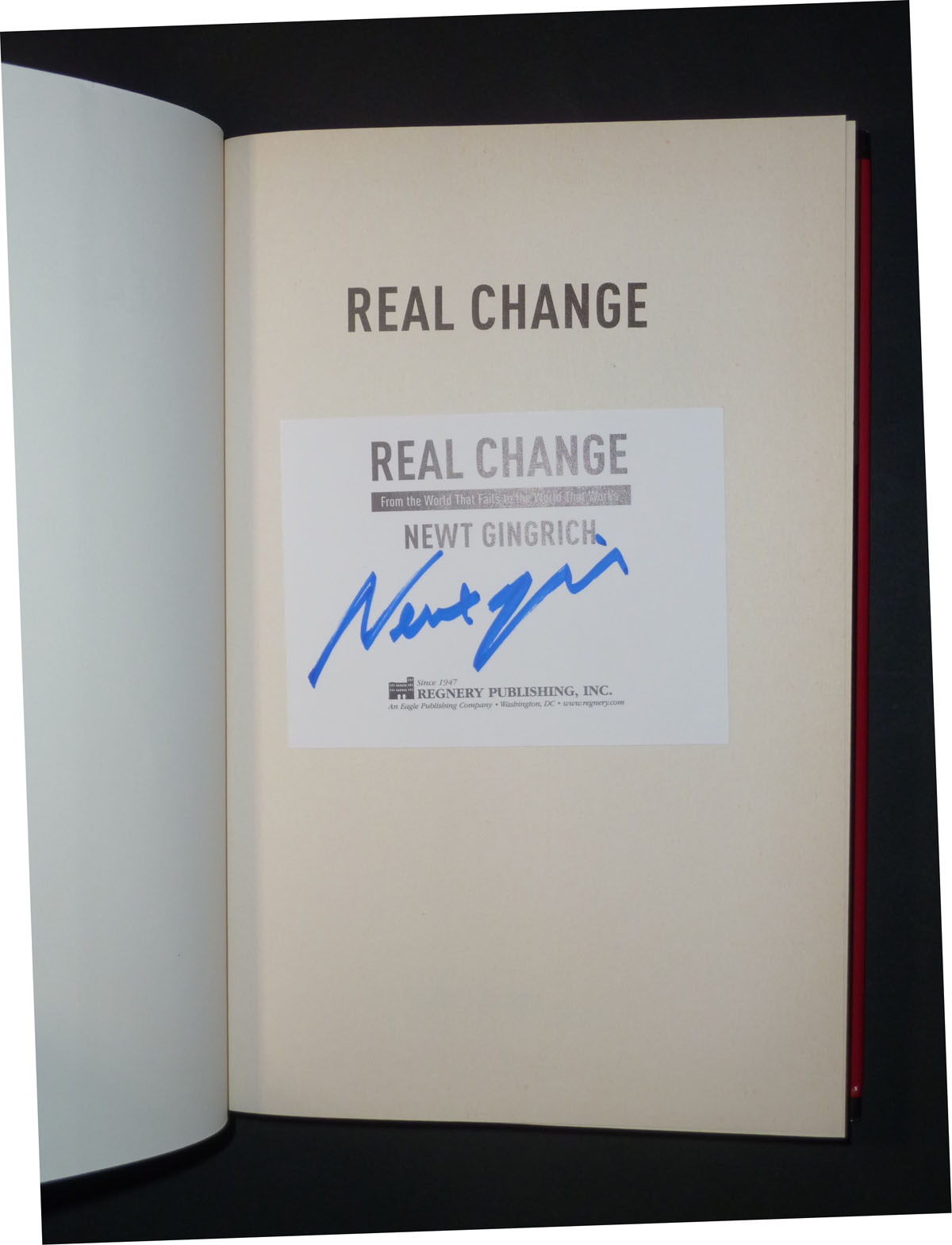 Image for Real Change