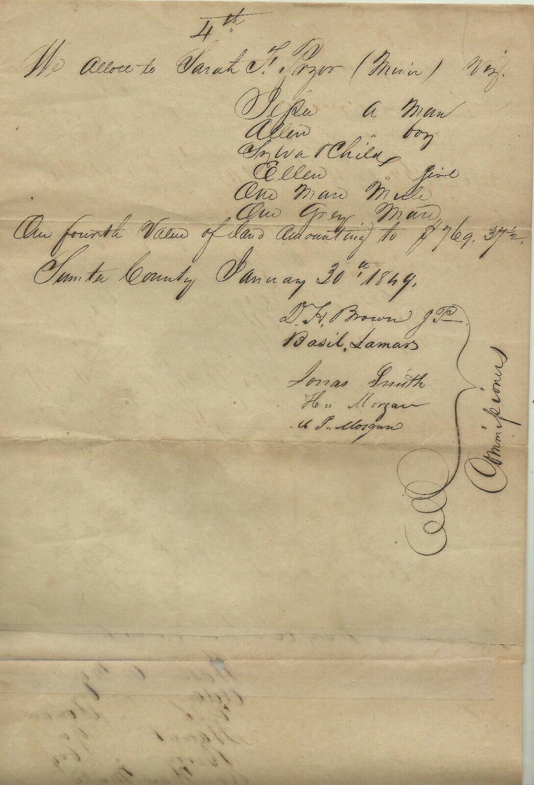 Image for Document for Estate of Robert Pryor, A Georgian Slave-Holder.
