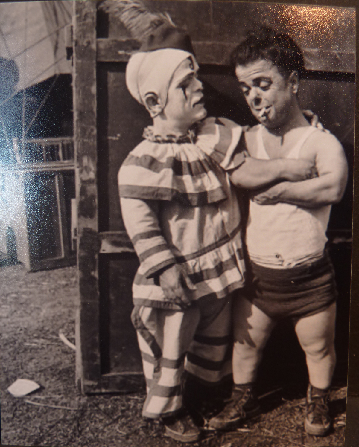 Image for Two Circus Dwarfs , Clown
