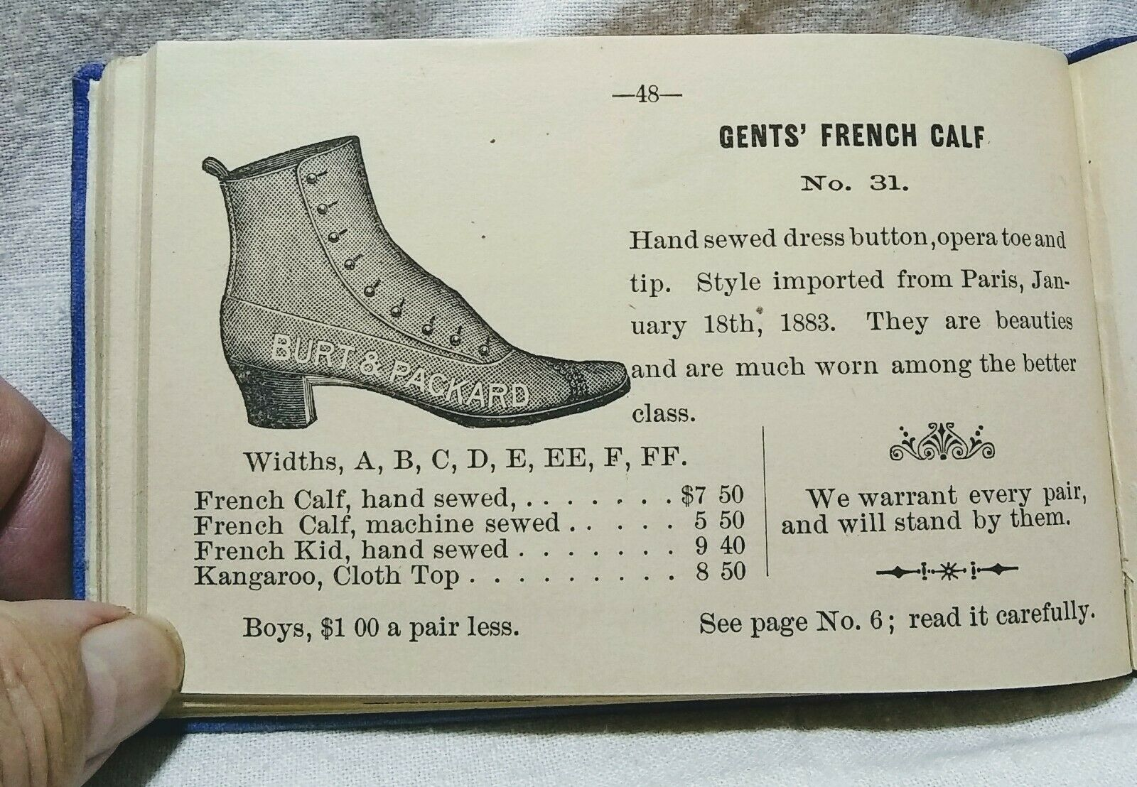 Image for G.C. Courtright Manufacturere of Ladies & Gents Boots and Shoes