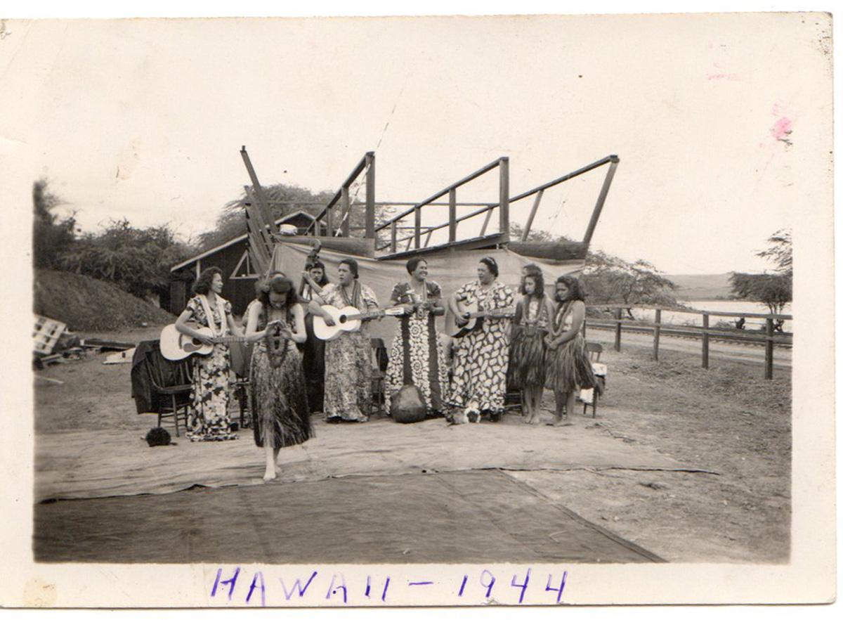 Hula Show - Hawaii - 1944