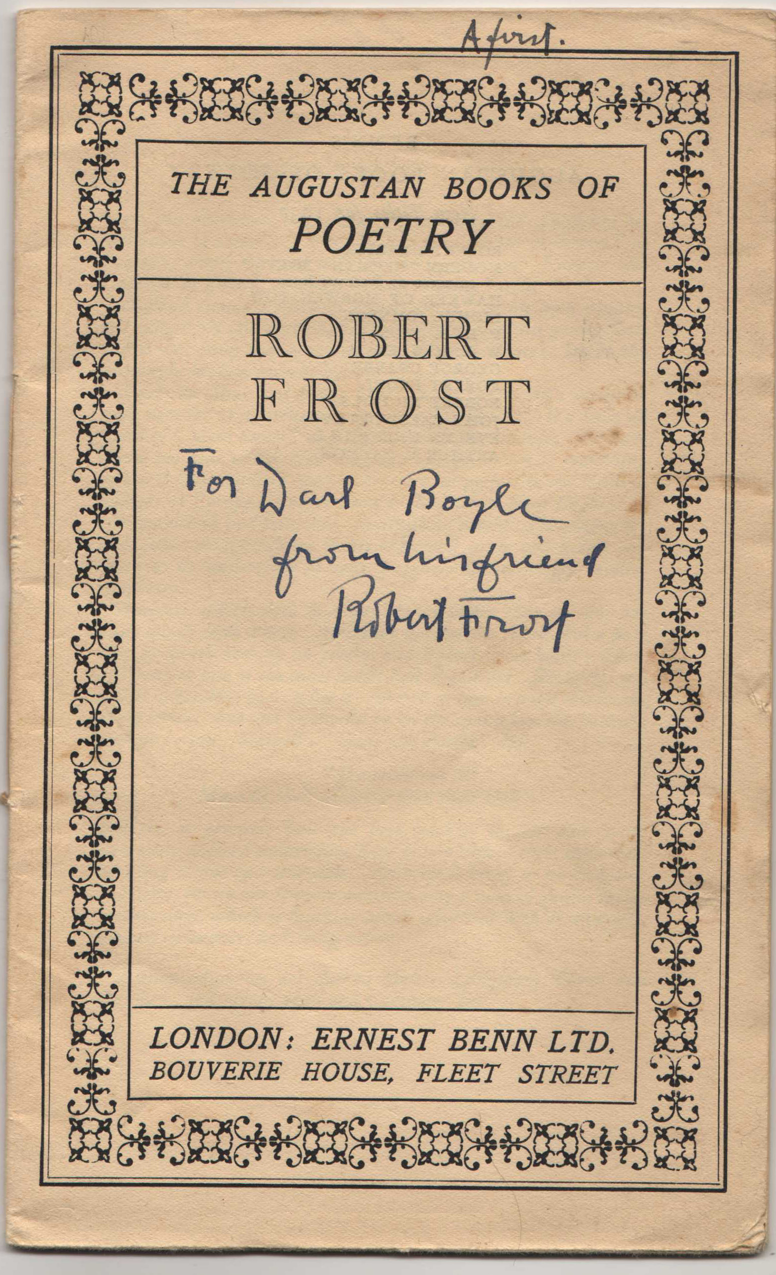 Image for Robert Frost