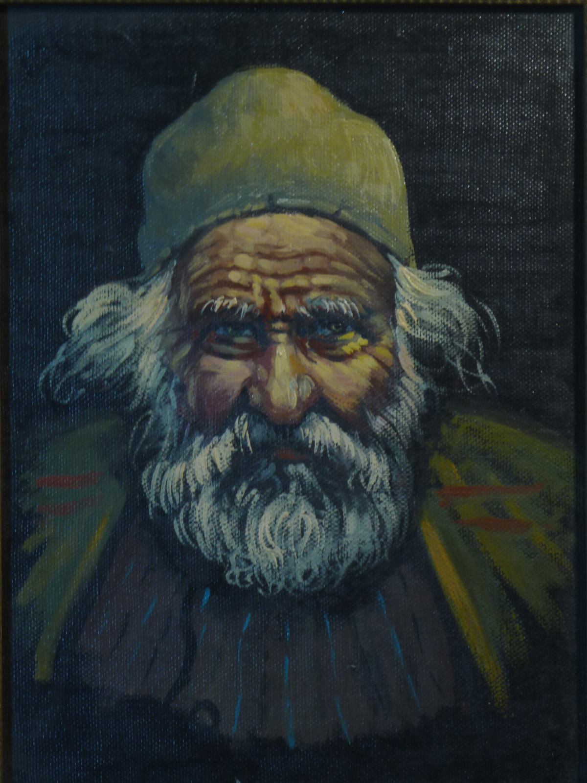 Image for Old Man Wearing a Taqiyah