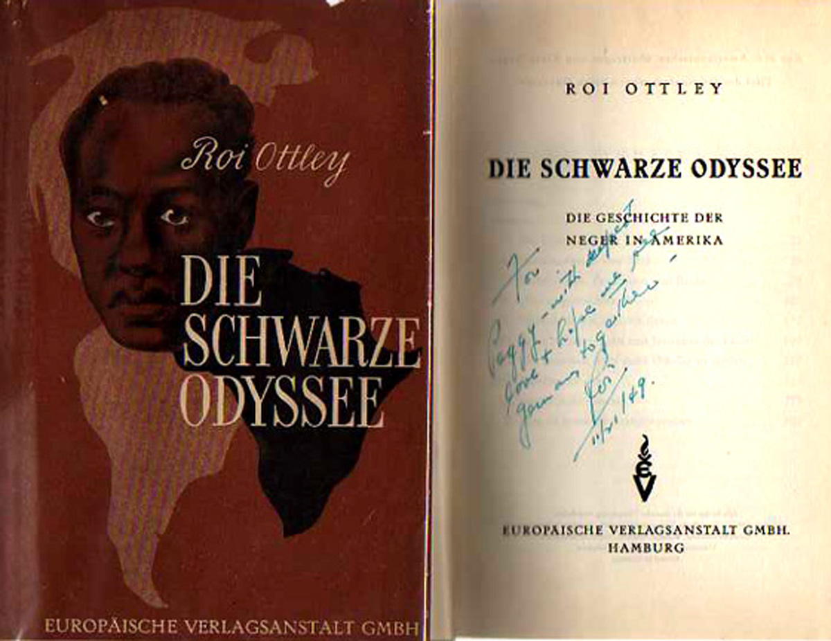 Image for Die Swartze Odyssee [The Black Odyssey]