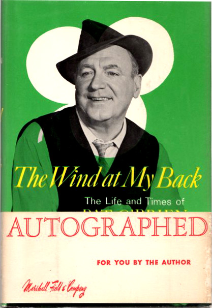 Image for The Wind At Myt Back - the Life and Times of Pat O'Brien
