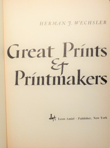 Image for Great Prints & Printmakers