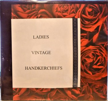 Image for Sampler of Ten Vintage Ladies Handkerchiefs