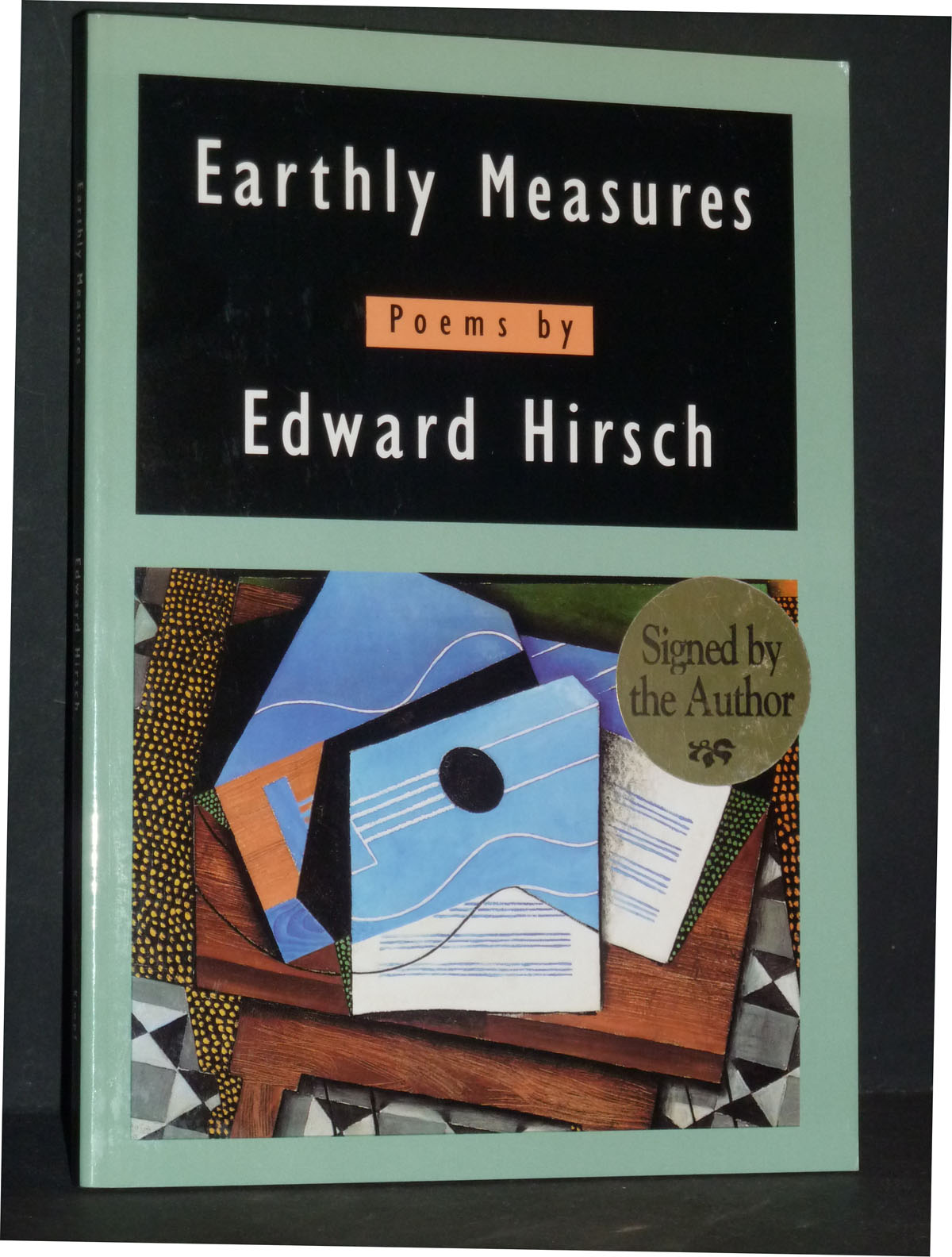 Image for Earthly Measures: Poems