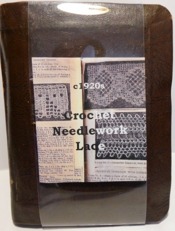 Image for Vintage Crotchet Needlework Scrapbook 1922 1948