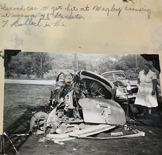 Image for Auto Accident Record Book- Photos- Hand Written Reports- and Clippings