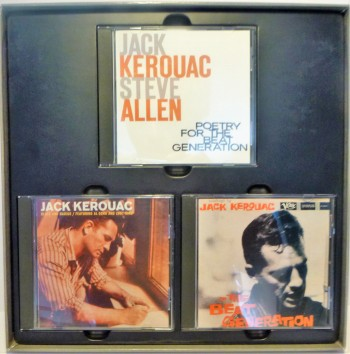 Image for The Jack Kerouac Collection ~ 3-CD Box Set