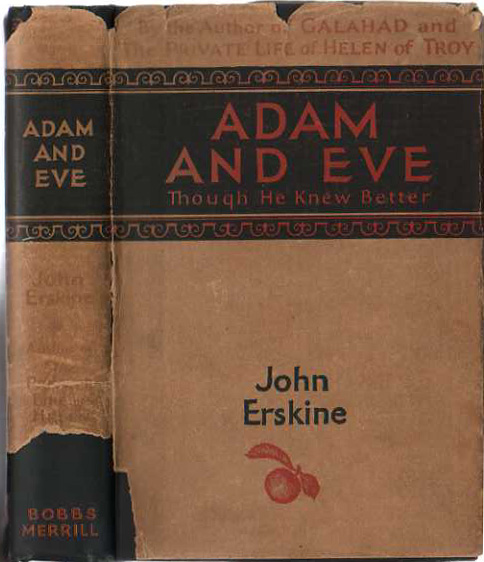 Image for Adam and Eve; Though he Knew Better