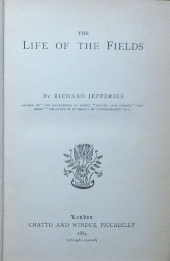 Image for The Life Of The Fields