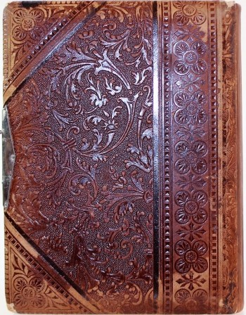 Image for Antique Victorian Leather Binding Cabinet Photo Album