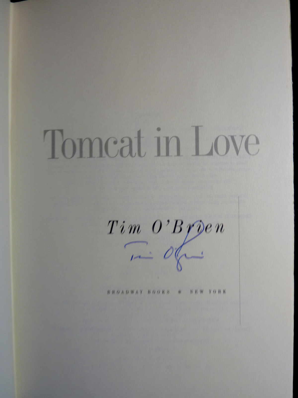 Image for Tomcat in Love