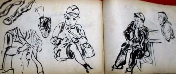 Image for Hand Drawn Japanese Sketchbook