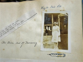 Image for 1950s Fairview Park Ohio Hospital School of Nursing Memory Album