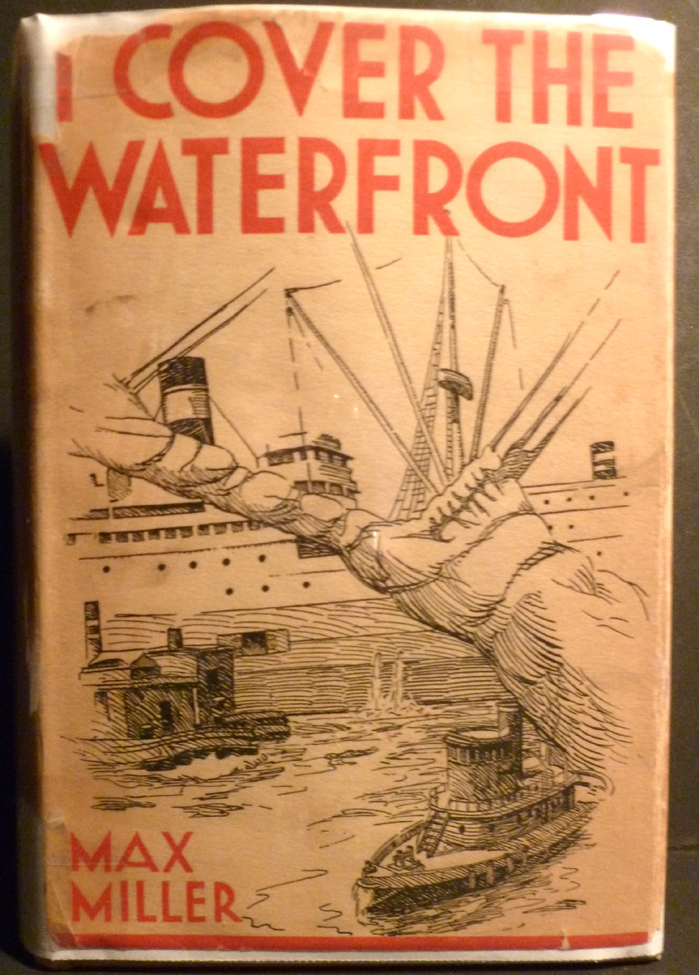 Image for I Cover the Waterfront Signed