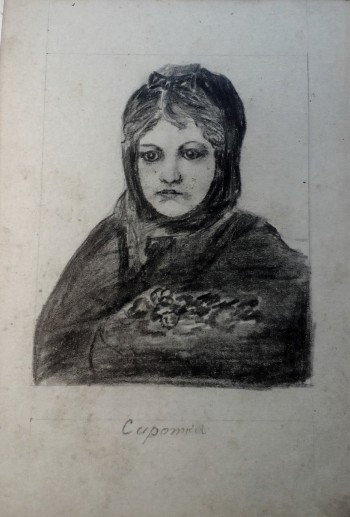 Image for Vintagel Russian Hand Drawn Portraits