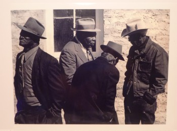 Image for Four African American Men 1950s