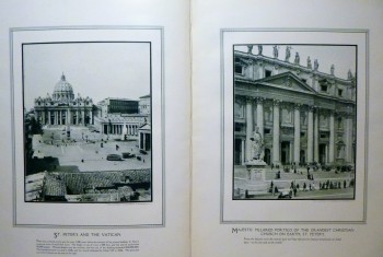 Image for A Visit to His Holiness Pope Pius X: A Series of Thirty-nine Remarkable Views Showing the Palace of the Vatican, Its Gardens, the Great Church of Saint Peter's, His Holiness Pope Pius X and Members of His Household