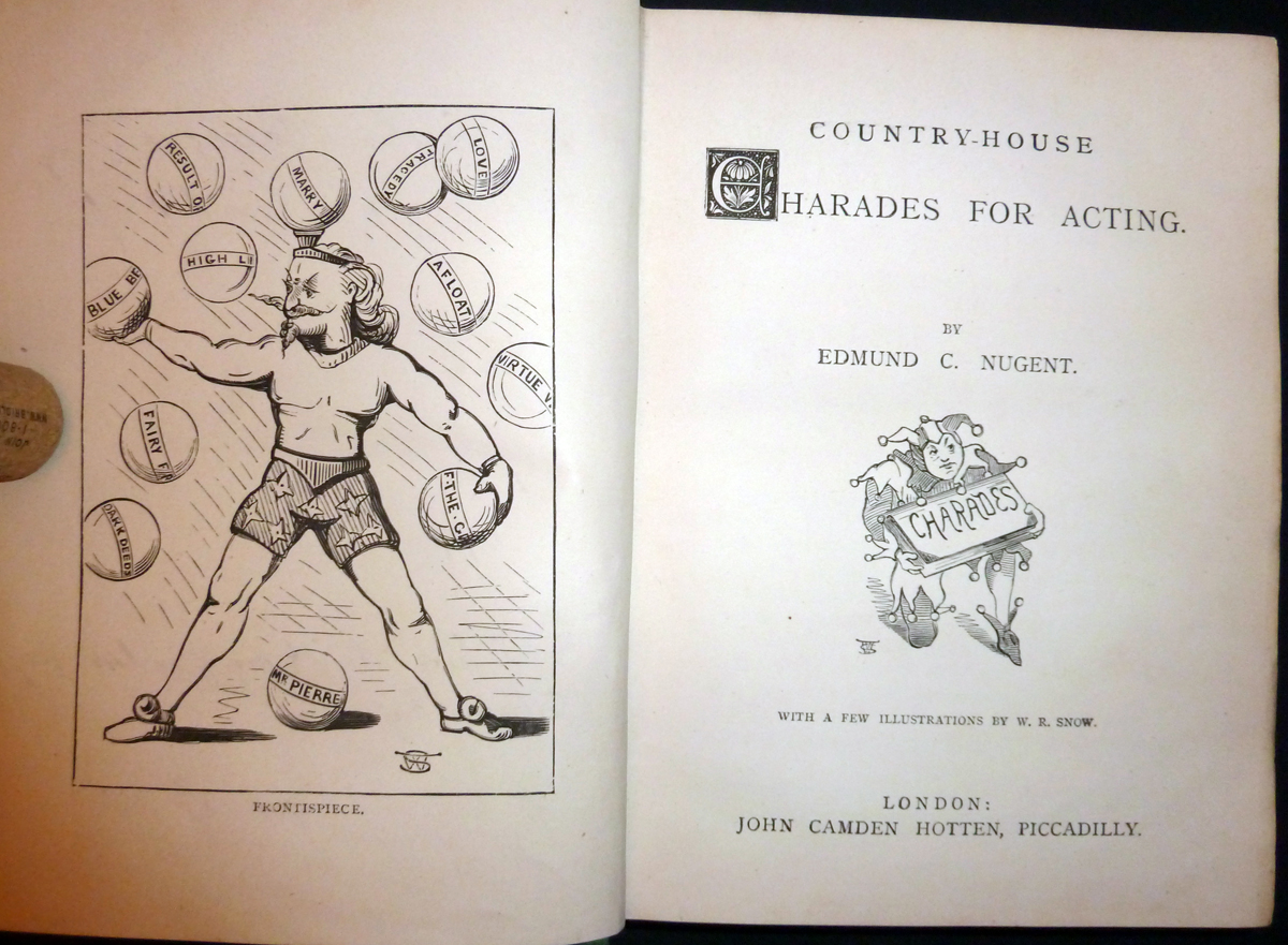 Image for Country-House Charades For Acting