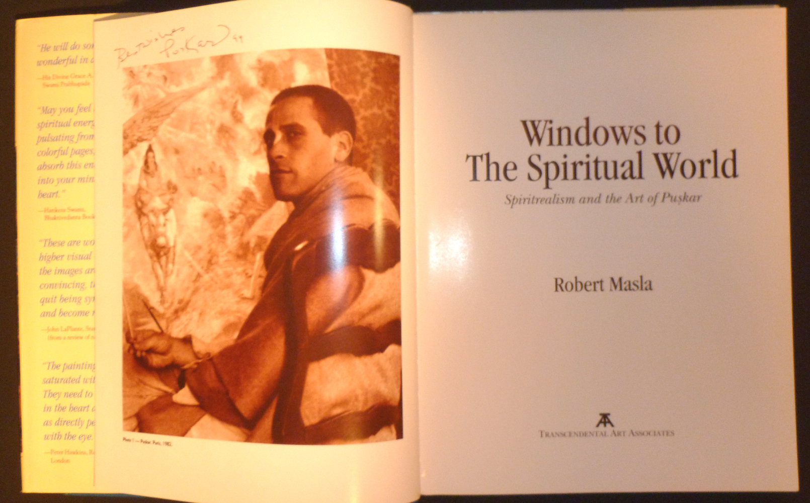Image for Windows to the Spiritual World : Spirit Realism and the Art of Puskar